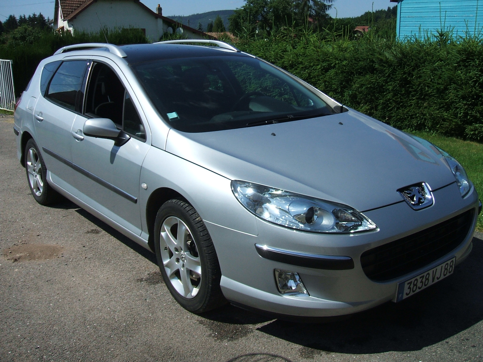 voiture occasion peugeot 407 de 2004 44 000 km. Black Bedroom Furniture Sets. Home Design Ideas