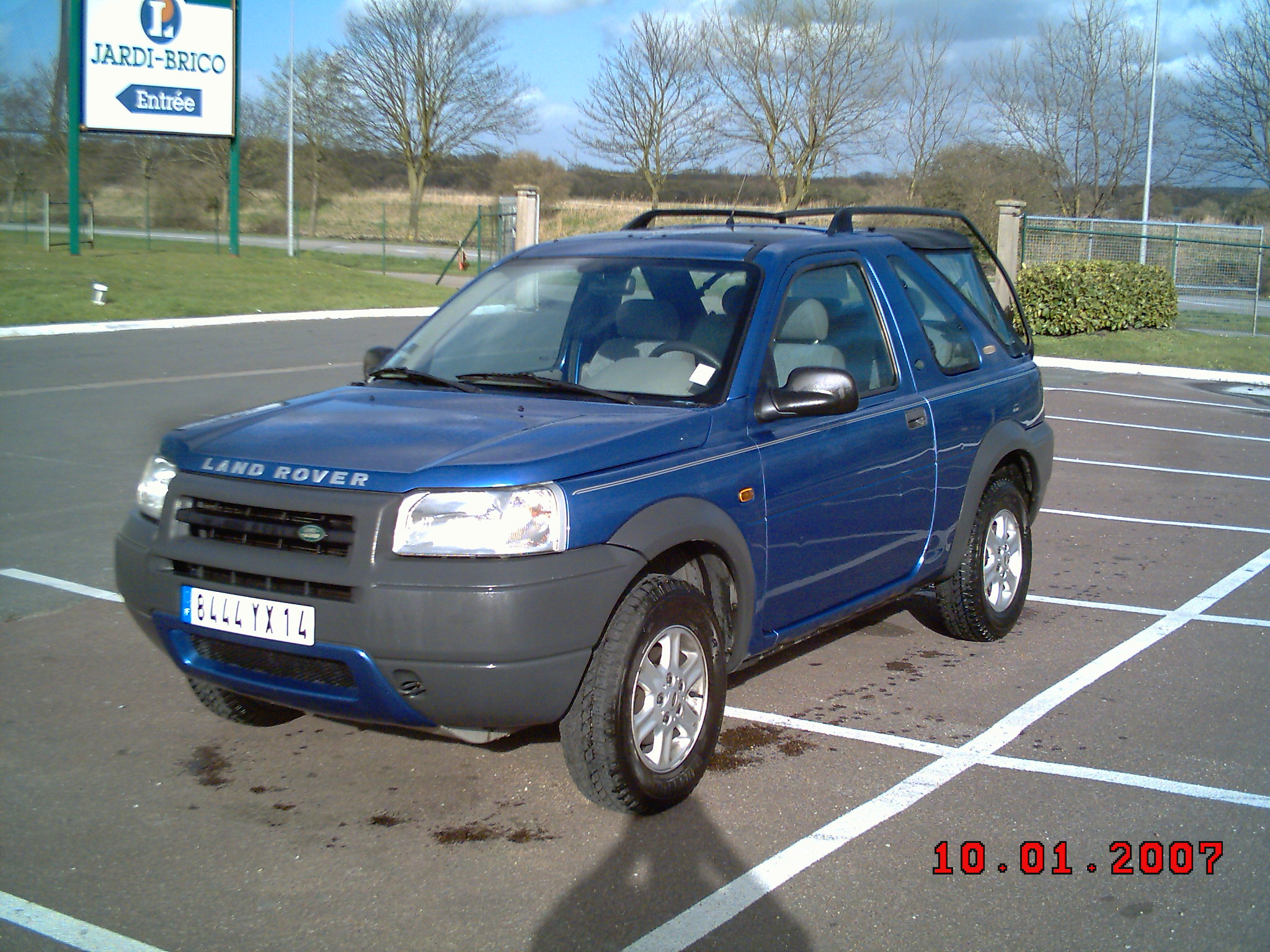 voiture occasion land rover freelander de 2001 109 000 km. Black Bedroom Furniture Sets. Home Design Ideas