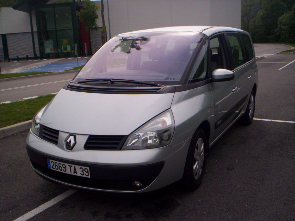 voiture occasion renault grand espace de 2004 78 000 km. Black Bedroom Furniture Sets. Home Design Ideas