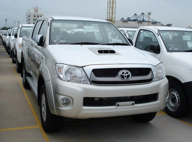 voiture occasion toyota hilux de 2009 0 040 km. Black Bedroom Furniture Sets. Home Design Ideas