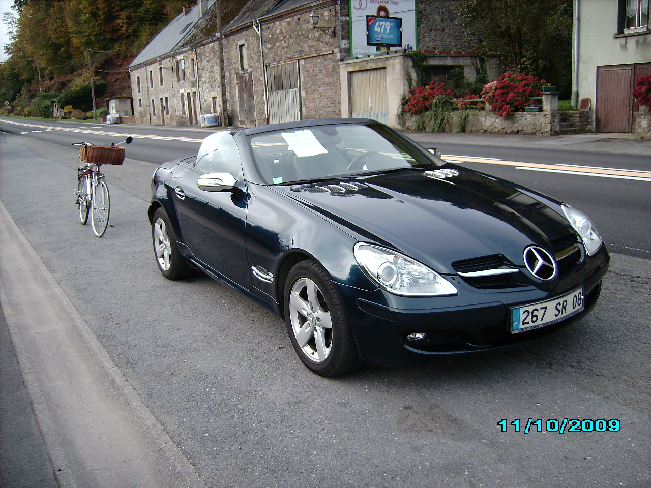voiture occasion mercedes classe slk de 2006 69 000 km. Black Bedroom Furniture Sets. Home Design Ideas
