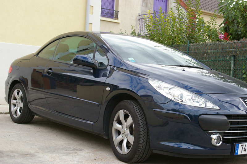 voiture occasion peugeot 307 cc de 2007 45 000 km. Black Bedroom Furniture Sets. Home Design Ideas