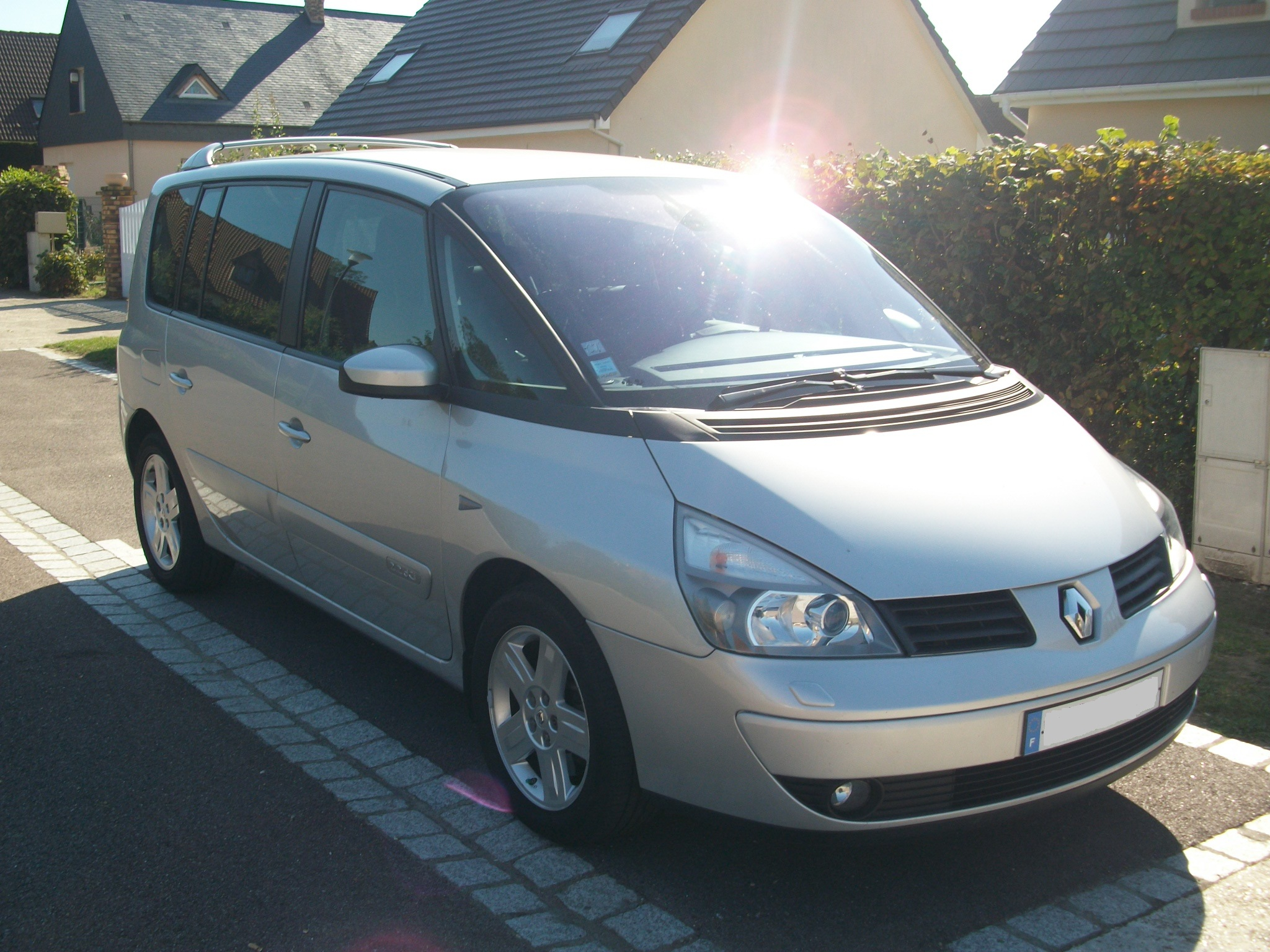 voiture occasion renault espace de 2006 70 000 km. Black Bedroom Furniture Sets. Home Design Ideas
