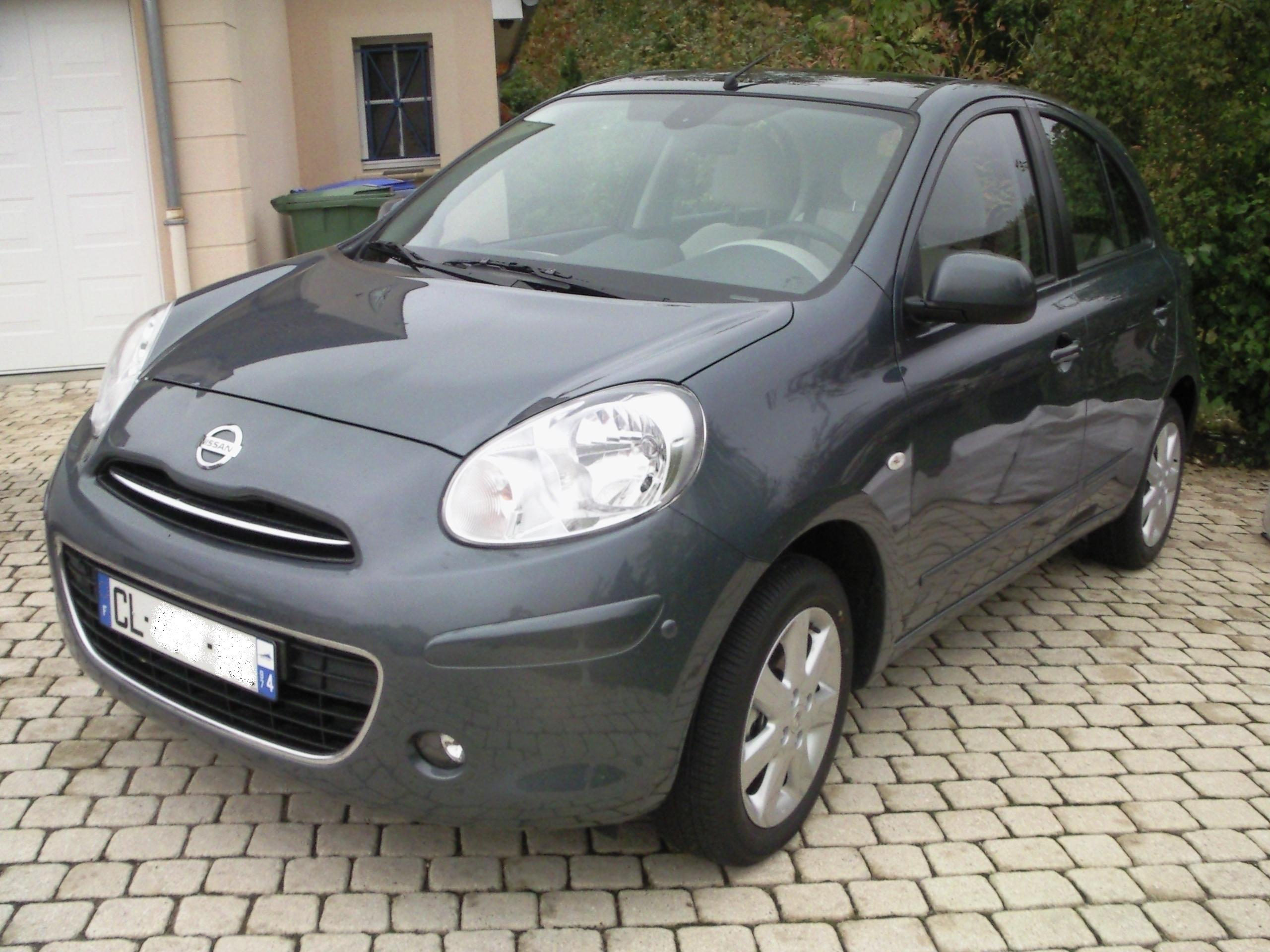 voiture occasion nissan micra de 2012 3 500 km. Black Bedroom Furniture Sets. Home Design Ideas
