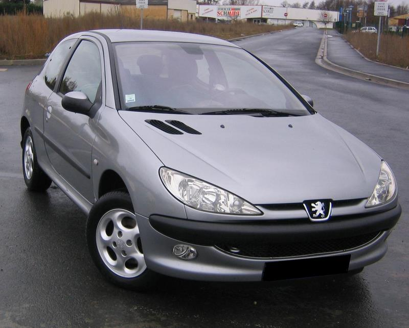 voiture occasion peugeot 206 de 2004 73 000 km. Black Bedroom Furniture Sets. Home Design Ideas