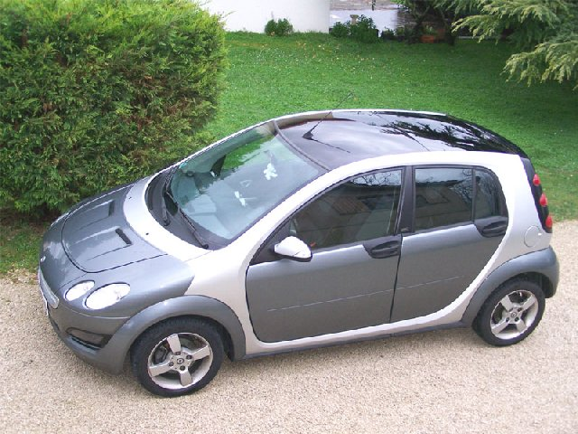 voiture occasion smart forfour de 2005 23 000 km. Black Bedroom Furniture Sets. Home Design Ideas