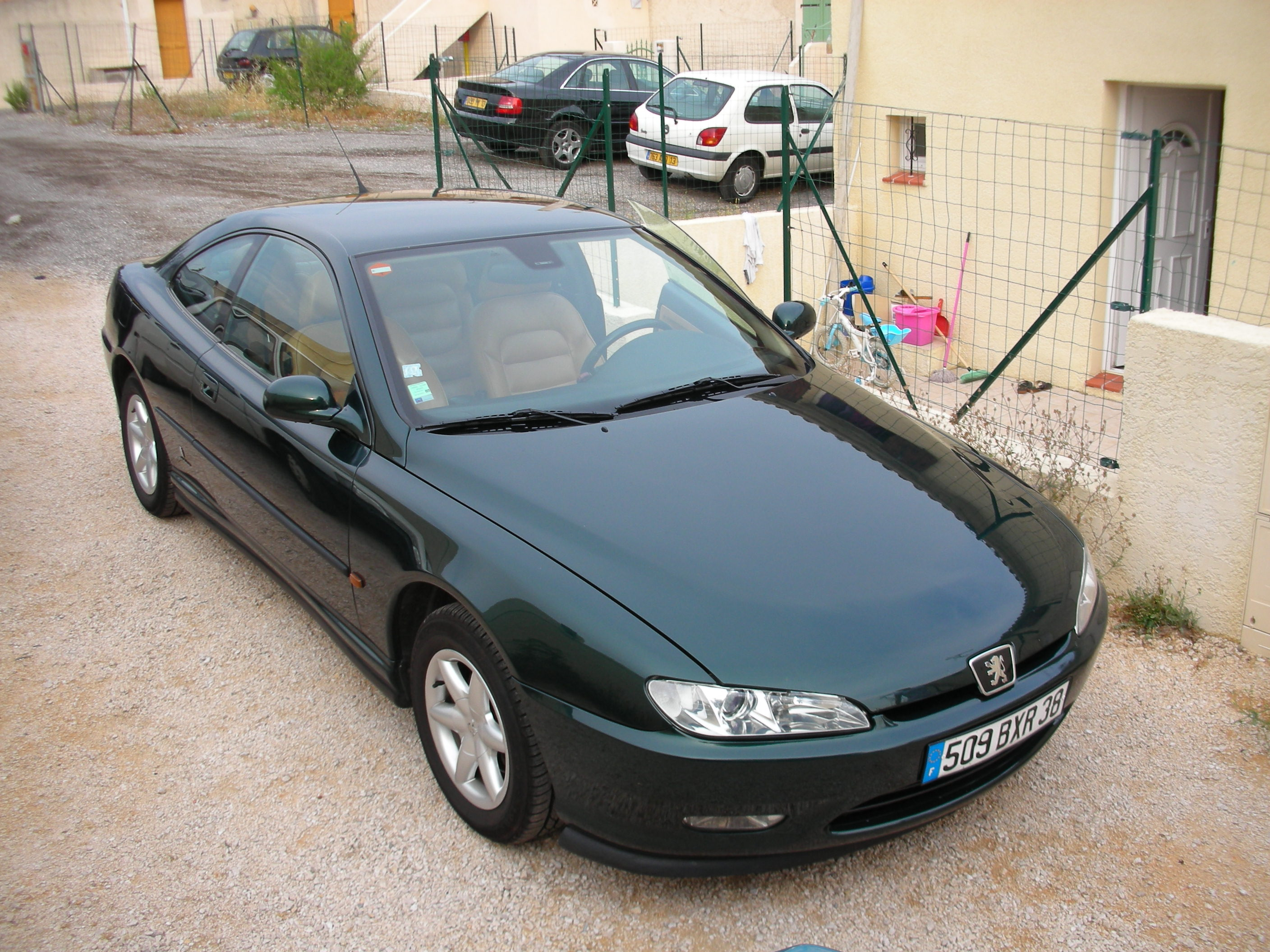 voiture occasion peugeot 406 coup de 1997 135 000 km. Black Bedroom Furniture Sets. Home Design Ideas
