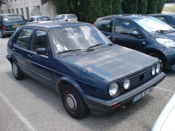 voiture occasion volkswagen golf ii de 1992 245 000 km. Black Bedroom Furniture Sets. Home Design Ideas